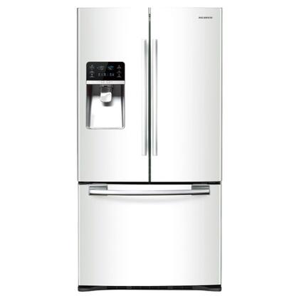 Samsung Appliance RFG29PHDWP  French Door Refrigerator with 28.5 cu. ft. Total Capacity 5 Glass Shelves
