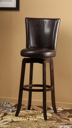 Hillsdale Furniture 4951827 Copenhagen Series Residential Faux Leather Upholstered Bar Stool