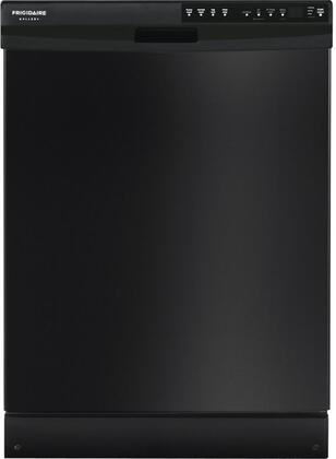 """Frigidaire FGBD2445NB 24"""" Built In Full Console Dishwasher with 14 Place Settings Place Settingin Black"""