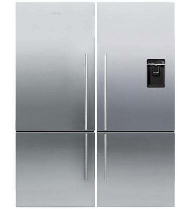 Fisher Paykel 347835 Bottom Freezer Refrigerators