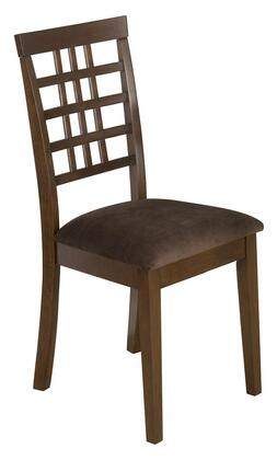 Jofran 976515KD Caleb Series Transitional Microfiber Wood Frame Dining Room Chair