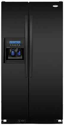 Whirlpool GC5SHAXVB Gold Series Counter Depth Side by Side Refrigerator with 24.5 cu. ft. Capacity in Black