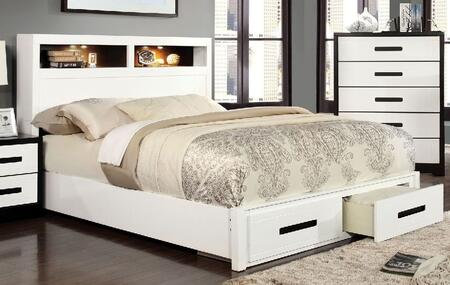 Furniture of America CM7298FBED Rutger Series  Full Size Bed