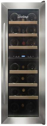 "Vinotemp VT21TEDS2Z 11.88"" Freestanding Wine Cooler"