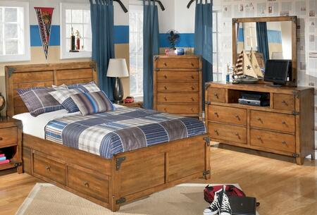 Milo Italia BR528STPBDMC Stuart Twin Bedroom Sets