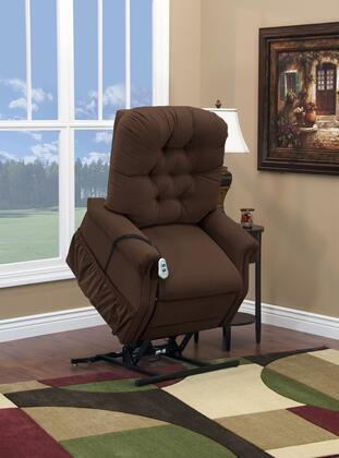 MedLift 1555PAAC Contemporary Fabric Wood Frame  Recliners