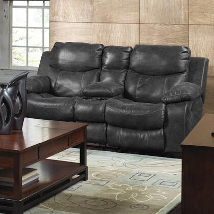 Catnapper 4319122728302728 Catalina Series Bonded Leather Reclining with Metal Frame Loveseat