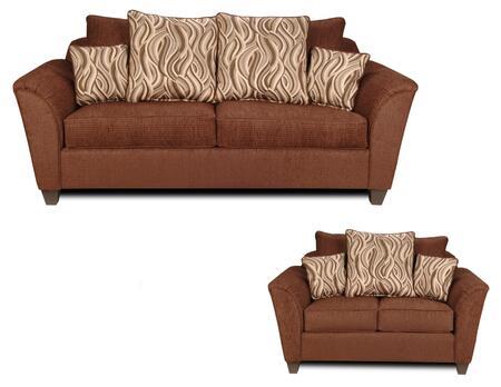 Chelsea Home Furniture 293000SL Zoey Living Room Sets