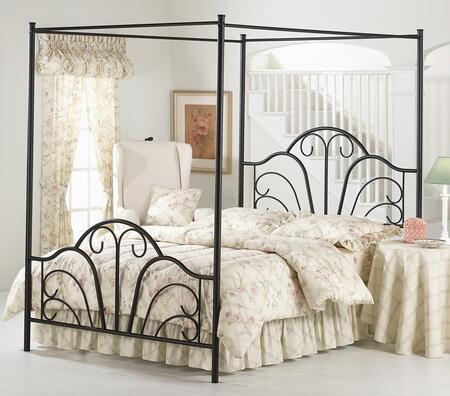 Hillsdale Furniture 348BKPR Dover Series  King Size Canopy Bed