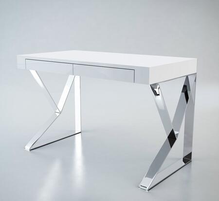 VIG Furniture VGBBMD153WHT Modern Standard Office Desk