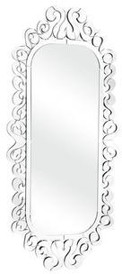 Zuo 850005 Shiva Accents Series Rectangular Portrait Decorative Mirror