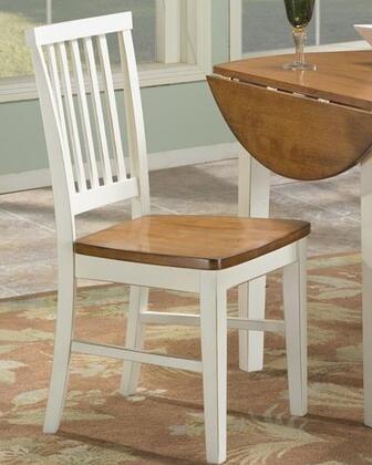 Intercon Furniture Arlington ARCH180 Dining Room Slat Back Side Chair