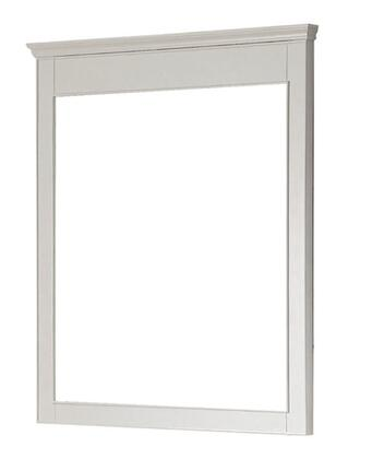 """Avanity Windsor WINDSOR-M30-X 30"""" Mirror that Hangs Horizontally with Durable Birch Wood Frame, Beveled-Edge, and Wall Cleat for Easy Hanging & Leveling in"""