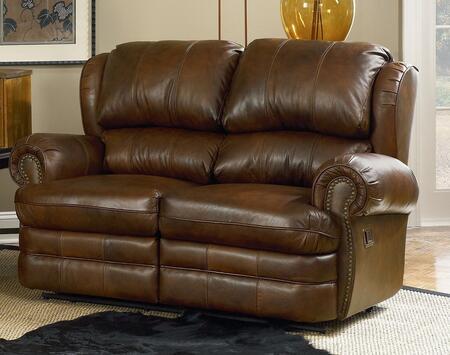Lane Furniture 20329513923 Hancock Series Fabric Reclining with Wood Frame Loveseat
