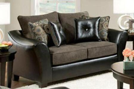 Chelsea Home Furniture 183203-X Union Sofa with Pillows, Medium Cushion Firmness, and Fabric Upholstery