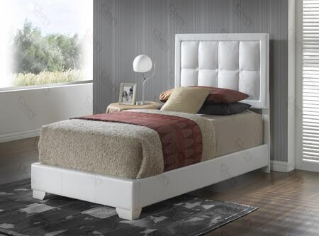 Glory Furniture G2594TBUP G2500 Series  Twin Size Panel Bed