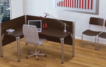 Bestar Furniture 100854A Pro-Biz single Left L-desk workstation