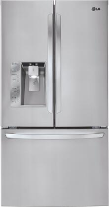 LG LFX33975ST  French Door Refrigerator with 32.5 cu. ft. Total Capacity 7 Glass Shelves