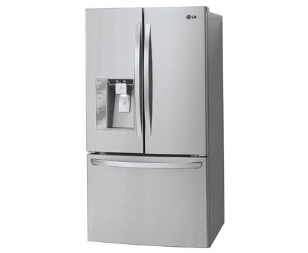 Lg Lfx33975st French Door Refrigerator With 32 5 Cu Ft