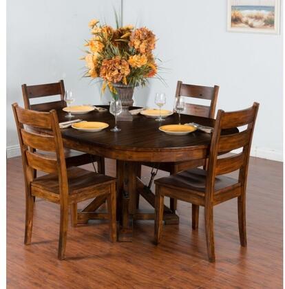 Sunny Designs 1392VMDT4C Tuscany Dining Room Sets