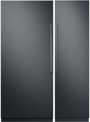 Dacor 867086 Modernist Side-By-Side Refrigerators