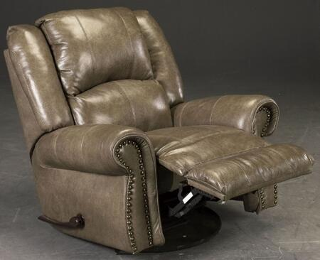 Catnapper 45005127428307428 Livingston Series Traditional Leather Metal Frame  Recliners