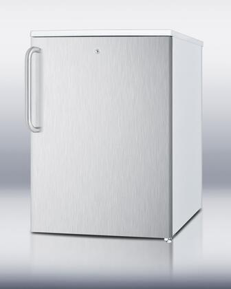 Summit FSM50LESSSTB  Freezer with 4.4 cu. ft. Capacity