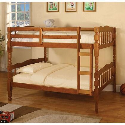 Furniture of America CMBK606ABED Catalina Series  Twin Size Bunk Bed