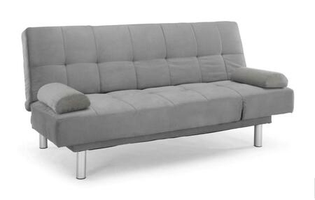 Lifestyle Solutions CCDLSS3M2DG  Convertible Fabric Sofa