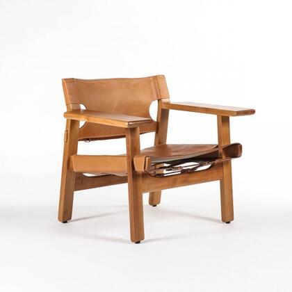 Stilnovo Erik Leather Accent Chair Fl1302teak Teak Appliances