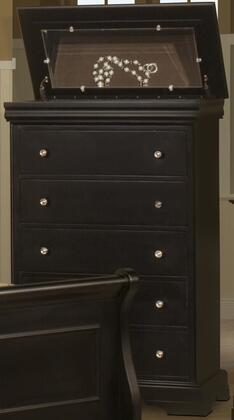 New Classic Home Furnishings Belle Rose Dark Cherry