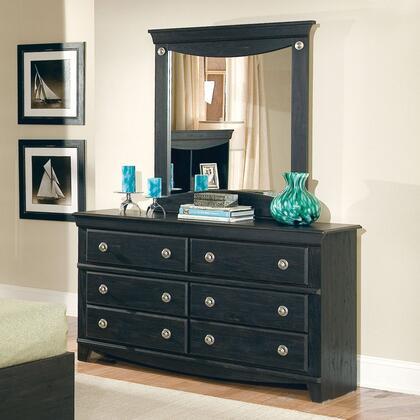 Standard Furniture 50409A Carlsbad Series Wood Dresser