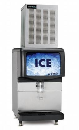Ice-O-Matic GEM1306 Nugget Ice Maker with SystemSafe, Water Sensor, Evaporator, Heavy-duty Gear Box, in Stainless Steel