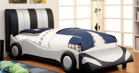 Furniture of America CM7945FBED Super Racer Series  Full Size Bed