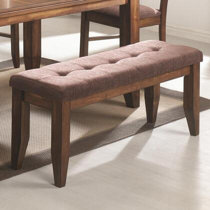 Coaster 102733 Page Series Kitchen Armless Wood Bench