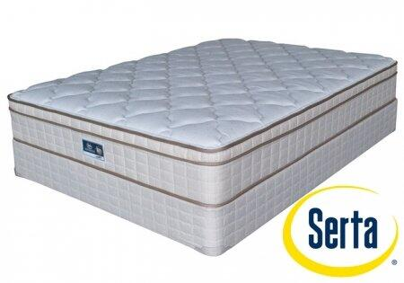 Serta ET540376Q Toledo Series Queen Size Euro Top Mattress