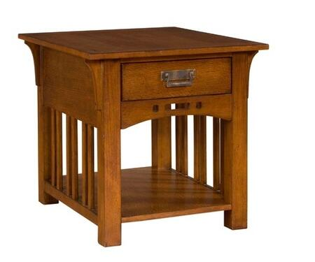 Broyhill 4078002 Artisan Ridge Series Traditional Square End Table