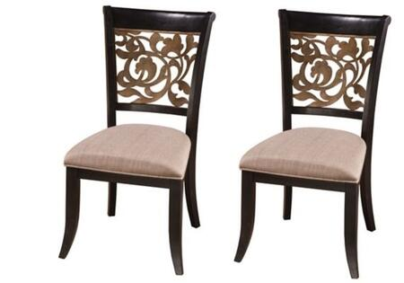 Hillsdale Furniture 5559802 Bennington Series Traditional Fabric Wood Frame Dining Room Chair