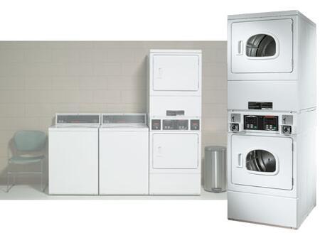 Speed Queen SSG909  Gas Dryer, in White