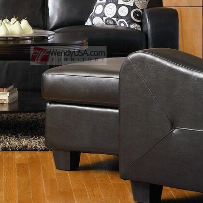 Coaster 502274 Java Series Contemporary Bonded Leather Ottoman