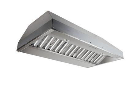 Best CP55IQx Potenza Series Built-In Range Hood With 600 CFM Blower, LED Lamp Lighting, Electronic Controls, Hi-Flow Baffle Filters, And Heat Sentry for Longevity: Stainless Steel