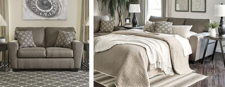 Milo Italia MI8018QSSLCASH Baylee Living Room Sets