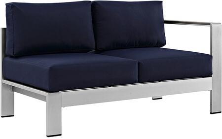 Modway EEI2262SLVNAV  Patio Love Seat