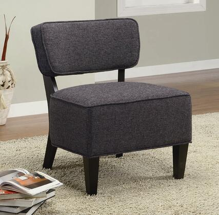 Coaster 900392 Armless Fabric Wood Frame Accent Chair