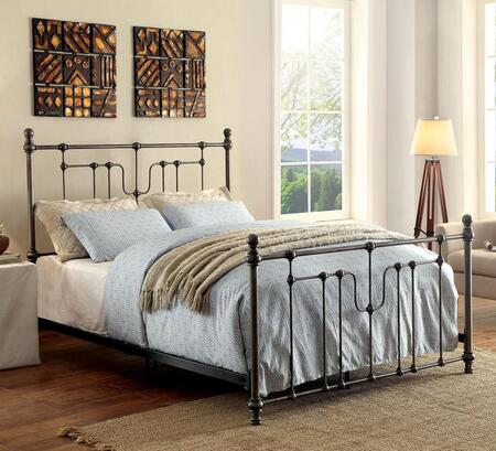 Furniture of America CM7717CK Elysia Series  California King Size Bed
