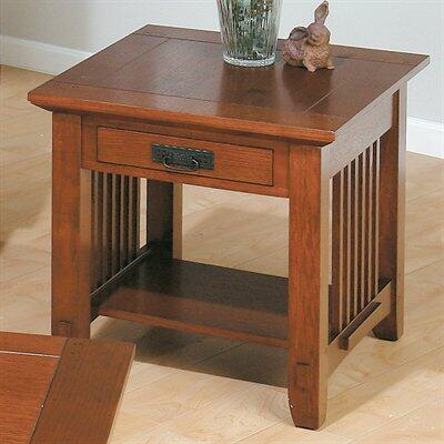 Jofran 0363 Contemporary Square 1 Drawers End Table