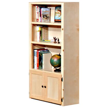 Chelsea Home Furniture 3524485  Wood 3 Shelves Bookcase