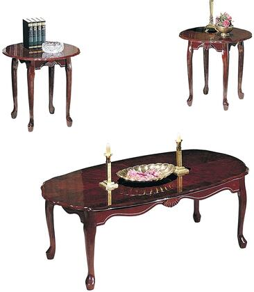Acme Furniture 02402 Traditional Living Room Table Set