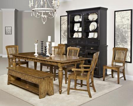Broyhill 4807DT2AC4SCB New Vintage Dining Room Sets