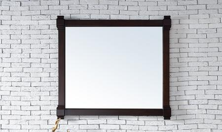 """James Martin Brittany Collection 650-M43- 43"""" x 39"""" Mirror with Solid Kiln-Dried Wood Frame and Molding Details in"""